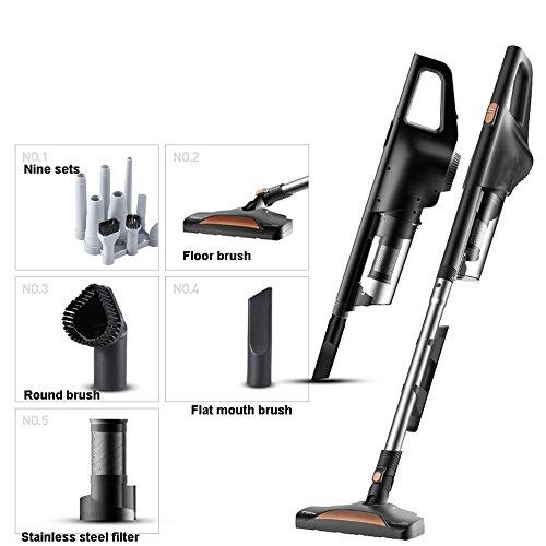 DKfg Staubsauger Staubsauger, robuster Teppichreiniger, Ultraleicht, weich, geräuscharm, abnehmbar, 600 W Hochleistung/Handgerät (Ausgabe : Package 2)