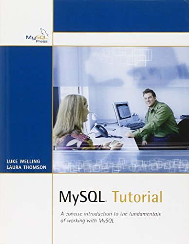 MySQL Tutorial by Luke Welling (2003-12-04)