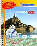 France 2014 A3 Spiral Atlas (Michelin Tourist and Motoring Atlases)