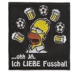 Fussball Aufnäher Patch