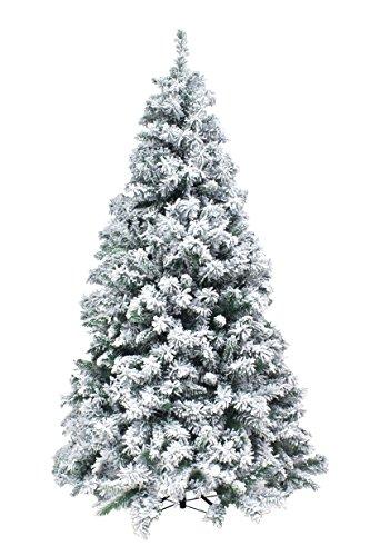 Xone Kettinson, albero di Natale slim innevato da 210 cm