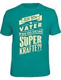 Original RAHMENLOS® T-Shirt für den Papa: ich bin Vater, was sind deine Superkräfte?