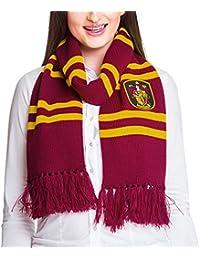 Echarpe Harry Potter Gryffondor pour fans de Poudlard Elbenwald rouge jaune