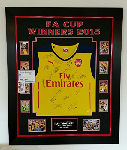 Very-Rare-FA-Cup-Winners-Signed-Shirt-2015-AFTAL-DEALER-Approved-Certificate