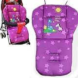 Natural Home Universal Kinderwagen Sitzkissen Baby Sitzauflage Baumwolle