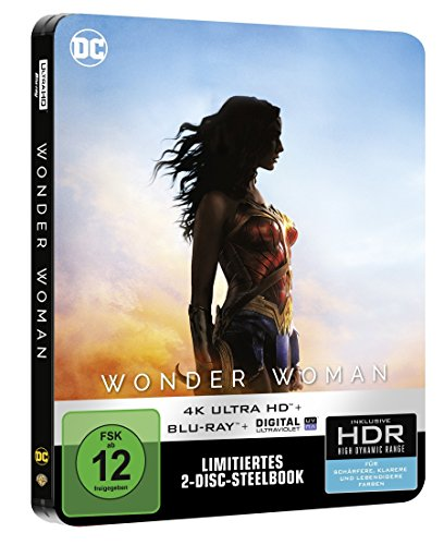 Wonder Woman (Steelbook) – Ultra HD Blu-ray [4k + Blu-ray Disc] - 2