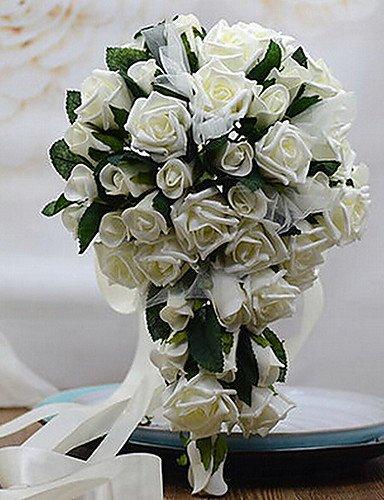 mode-bouquetfleurs-artificielles-un-bouquet-de-40-roses-pe-de-simulation-de-mariage-bouquet-de-maria