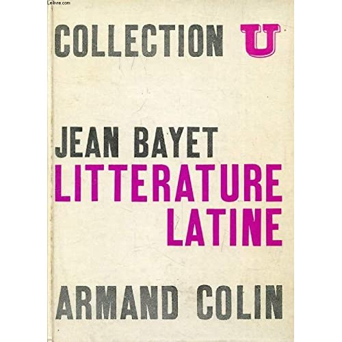 LITTERATURE LATINE