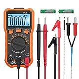 Digital Multimeter 6000 Counts TRMS Voltmeter Amperemeter Ohmmeter für NCV DC AC Voltage Strom Widerstände Temperatur Kapazität Diode Frequenz Tastverhältnis Test