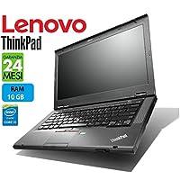 "Lenovo ThinkPad TSeries PRO 14"" Intel i5 2.6GHz / 3.50Ghz RAM 12 GB - Garanzia 24 Mesi (Notebook Ricondizionato Certificato Netmotive)"