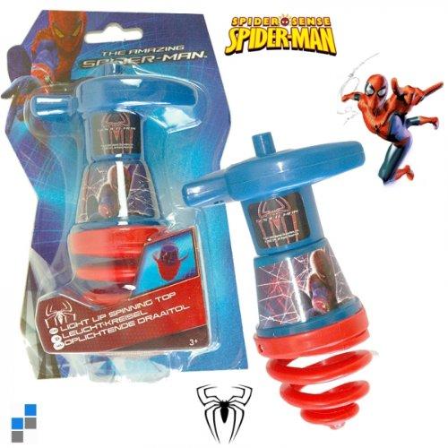 Toupie lumineuse Spiderman amazing jeu officiel