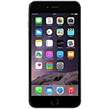 "Apple iPhone 6 Plus SIM única 4G 16GB Gris - Smartphone (14 cm (5.5""), 16 GB, 8 MP, iOS, 8, Gris)"