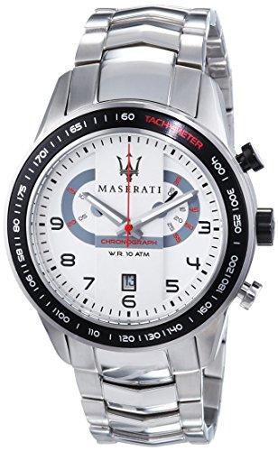 Maserati - R8873610001 - Montre Homme - Quartz Chronographe - Bracelet Acier Inoxydable Argent