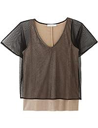 Promod T-Shirt aus Netzstoff