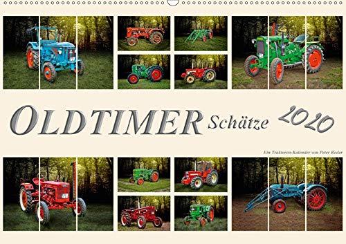 Oldtimer Schätze. Ein Traktoren-Kalender (Wandkalender 2020 DIN A2 quer): Nostalgische Traktoren - Oldtimer Schätze, von vielen geliebt und immer ... 14 Seiten ) (CALVENDO Technologie)
