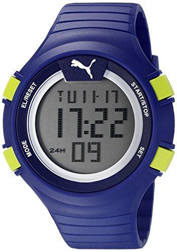 Puma unisex PU911281004Faas 100l azzurro display digitale orologio