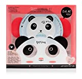 Oh K. Set di pulizia viso maschere & Eye Pads–panda Pals kit per la pulizia