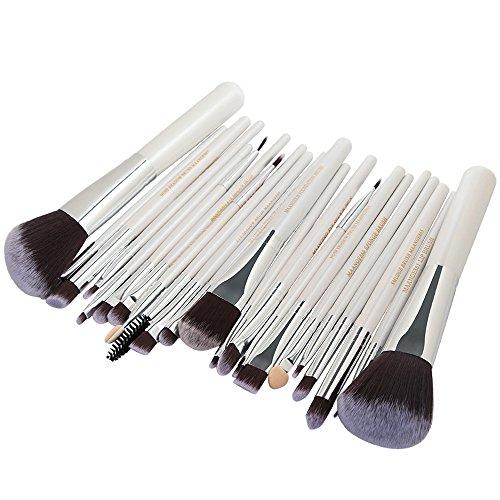 SMILEQ 22 Stücke Kosmetik Make-Up Pinsel Rouge Lidschatten Pinsel Set Kit (Länge: 1,0 Breite: 1,0...