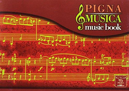 Zeszyt do muzyki 17x24 Pigna Musica pieciolinia 16 kartek mix kolorów