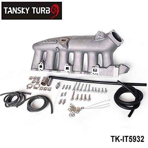 Per Nissan RB25ECR33cast aluminum Turbo collettore di aspirazione lucidato JDM High performance tk-it5932