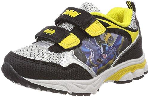 Batman Jungen Bat Melten Sneaker, Schwarz (Black/White), 29 EU