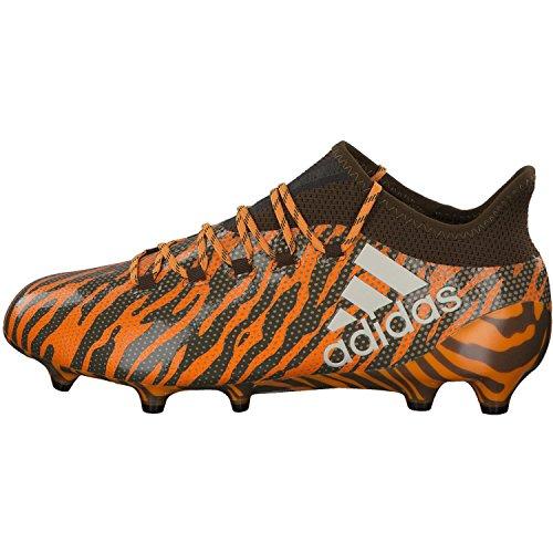 adidas Herren X 17.1 Fg Fußballschuhe Orange (Borang/Talc/Traoli)