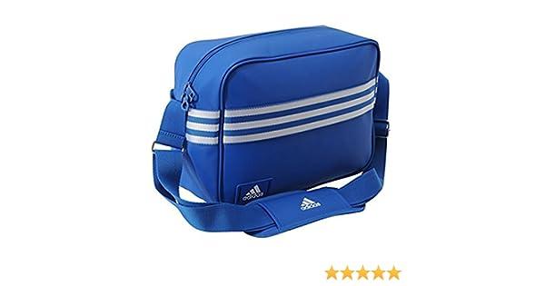 4017fb015656 Adidas Enamel Messenger Bag - Blue.  Amazon.co.uk  Luggage