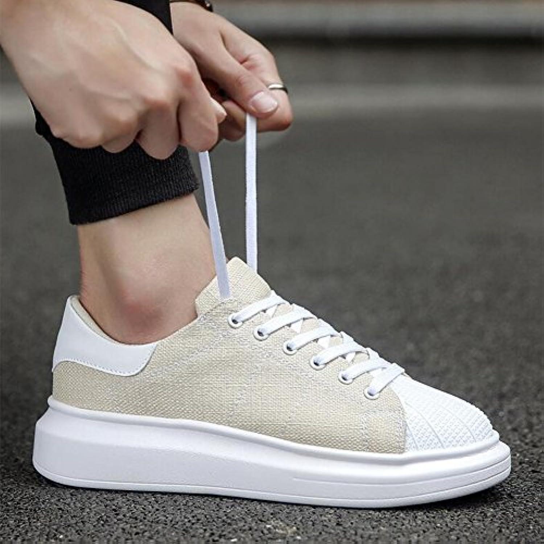 Unbekannt YIXINY Schuhe Sneaker Canvas Herrenschuhe Herbst Sport Freizeitschuhe Wild Plate Schuhe Leinwand (Farbe