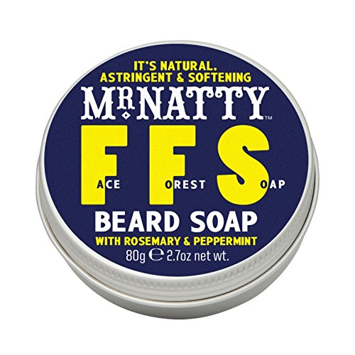 Mr. Natty - Face Forest Soap - Bartshampoo