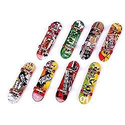 Imported 1Pc Mini Skateboard Finger Board Skate Boarding Kit-15018310MG