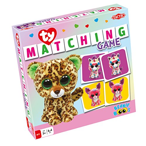 TACTIC 53289 - Ty Beanie Boos Matching Game