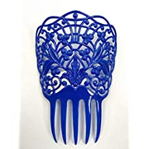 Feria de Abril. DISBACANAL Peineta Flamenca Mediana - Azul