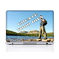 Meffort Inc Personalized Laptop Notebook Skin Sticker Cover Art Decal, Customize with Your Artwork (14 Inch, Customized)