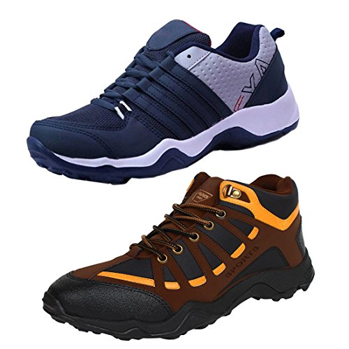 6abc6410d Bersache Men Combo Pack of 2 Sports Shoes with Casual Shoes