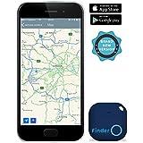musegear® App Schlüsselfinder (blau), NEUE VERSION 2 | 3x lauter | Schlüssel, Keys, Handy, Fernbedienung, Portmonee bequem wieder-finden & tracken statt Suchen | Smartphone Bluetooth-GPS-Kopplung