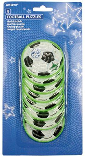 amscan INT39275 Geschicklichkeitsspiele Fußball