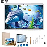 Tablette Tactile 10 Pouces 4G Dual SIM/WiFi 32GB ROM 2GB RAM(Netflix et WPS Office...