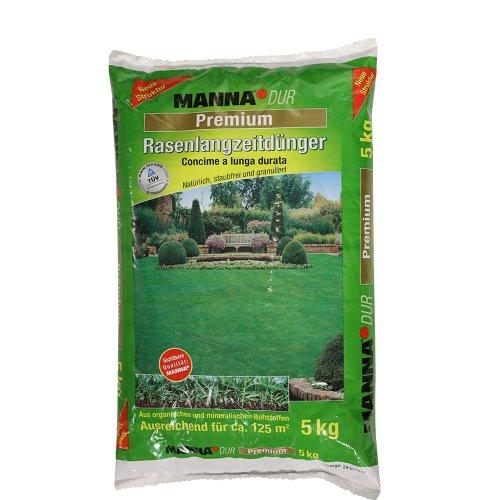 MANNA 122208105 Dur Premium Rasen-Langzeitdünger, 5 kg
