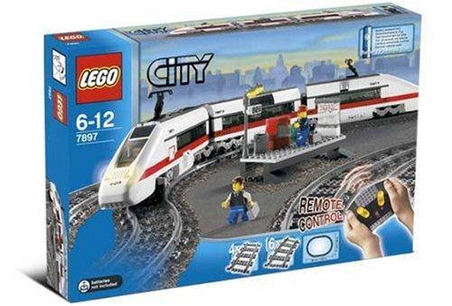 Preisvergleich Produktbild Lego City 7897 - Passagierzug Set