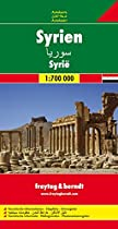 Map of Syria - By Freytag-Berndt