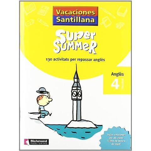 Vacaciones Santillana, Super Summer, anglès, 4 Educació Primària