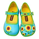 Hot Chocolate Design Mini Chocolaticas Sunflower Bailarina Mary Jane para Niñas HCD 26