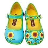 Hot Chocolate Design Mini Chocolaticas Sunflower Bailarina Mary Jane para Niñas Multicolor...