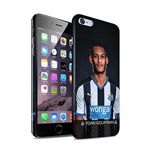 Officiel Newcastle United FC Coque / Clipser Brillant Etui pour Apple iPhone 6S+/Plus / Pack 25pcs Design / NUFC Joueur Football 15/16 Collection Gouffran