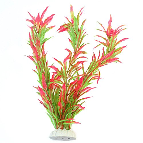 Pinzhi Wasserpflanzen Aquariumpflanze Dekoration Künstliche Lotus-Pflanze Unschädlich (Style 13)