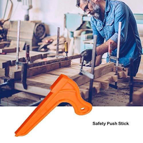 VENTDOUCE Talles Safety Push Stick Sierra de mesa Push Block Accesorios de sierra de mesa Juego de 4 piezas Protección de manos para sierra de mesa Sierras de cinta Router Carpintería de adaptable