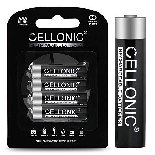 CELLONIC subtel® Qualitäts Akku kompatibel mit Siemens Gigaset A415 / Gigaset A415A / Gigaset C430 / Gigaset C430A / Gigaset S850 (4x1000mAh) Ersatzakku Batterie