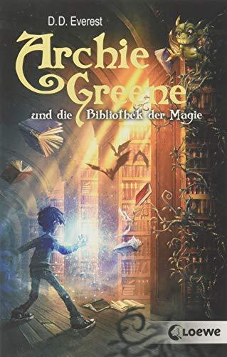 Buchseite und Rezensionen zu 'Archie Greene und die Bibliothek der Magie' von D. D. Everest