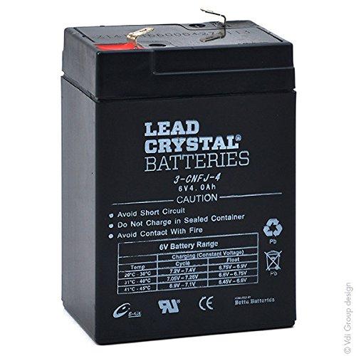 Lead Crystal - Akku Bleikristall 3-CNFJ-4 6V 4Ah F4.8 -