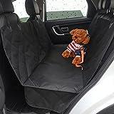SSQ-CXO Autositzbezug für Hund Waterproof & Scratch Proof & rutschfeste Rücksitzbezug 900D Oxford Stoff + Baumwolle + 190T Polyester Futter + Anti-Rutsch-Netz + PU wasserdichte Beschichtung